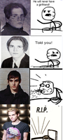 Mikey Way and the Cereal Guy by MusicInMehSoul