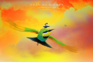 Chasing Dinner by outstar1979