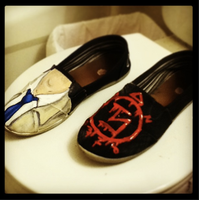 Castiel Shoes by MonteyRoo