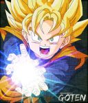Goten Poster .:Including GFX:. by Ray-Striker