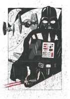 Darth Vader - The Emperor's Right Hand by monkeypoke
