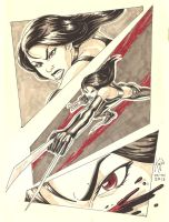 X-23 sketch by kajinman