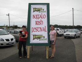 Irish Festival sign by Raphs-Girl024