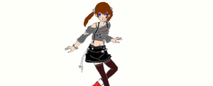 me in soul eater form by Crystalgirl227