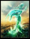 Flood Elemental by Tsabo6
