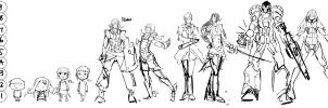 Character Height by Morisan