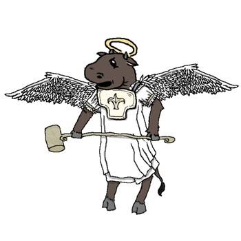 Clarabell, the Holy Cow by The-Iron-Ninja