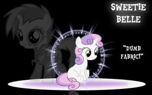 Sweetie Belle Wallpaper by PCS4DDT