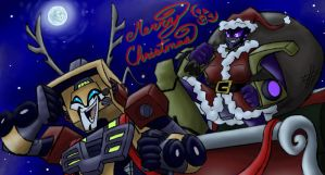 MERRY CHRISTMAS TO ALLSPARK by Silent-Mime