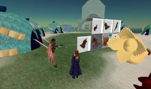 Building with prims on SL by Renmiri