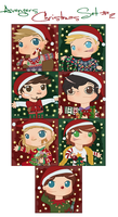 Avengers Christmas Icons #2 by ArcherVale