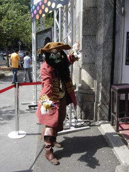 Lechuck cosplay by Angelilla