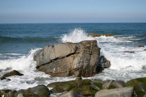 rocky coast 01. by greenleaf-stock