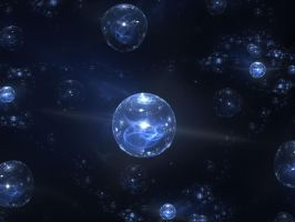Universe Bubbles by Shortgreenpigg