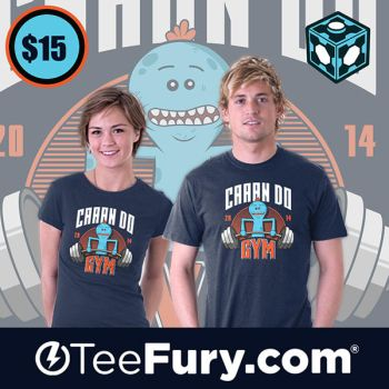 Can Do Gym Teefury by donot182