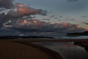 Sunset glow - North Avoca 1 by wildplaces