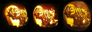 Mad King Thorn Pumpkin 2013 (with Sound Effects!) by Armuri