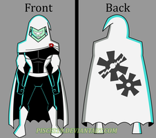 Dan Phantom - Front and Back by Pisces19