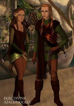 Elf Couple by NickyBell6597