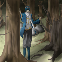 Commission for: Zombie-scarecrow[2] by xYorutenshi