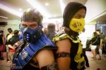 Sub-Zero VS Scorpion by DioBrando