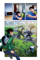 Max Steel page by papillonstudio