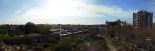 Rooftop panorama by Gabrielb1984