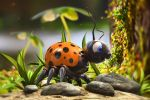 Violett's  Lady Bug by Palantion