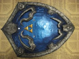 Hylian Shield WIP 4 by Spaith