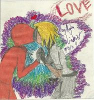 Jolin and Kenny first kiss by Midnight--Comet