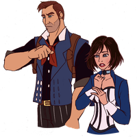 Test: Bioshock Infinite by Trinityinyang