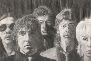 Band Sketch by AndyRidae