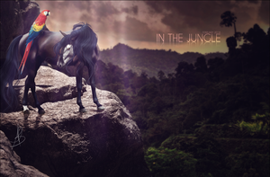 in the jungle. by xxELUHFUNT
