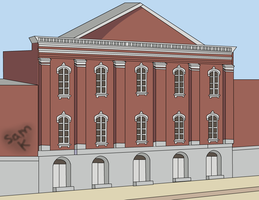 Fords Theater by skeddles