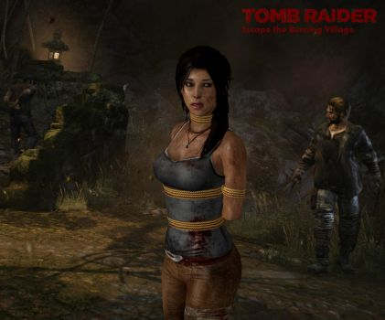 Tomb Raider - Escape the Burning Village by honkus2