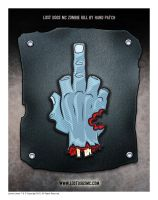 Lost Dogs MC Patch for a zombie kill by hand by yolkum