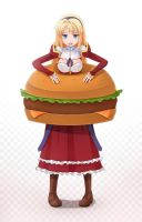 Satellizer Burger by sunimu