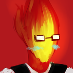 Undertale: Grillby by Fulcrumisthebomb