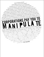 Corporations Manipulate by djschwin