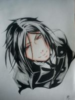 Sebastian Michaelis by ChildOfAdvent
