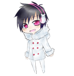 Chibi Izaya by Mail-mail