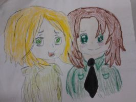 Hetalia Poland and Lithuania again by cottoncloudyfilly