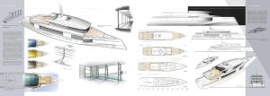 50m Yacht design by dreadwardo