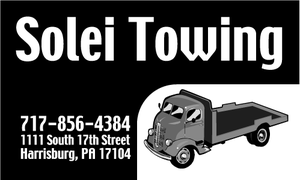 Solei Towing Business Card by dragonorion