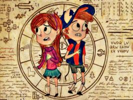 Gravity Falls: Dreamscapers by Thetruffulacupcake
