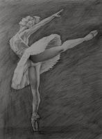 Ballet Dancer by dimmubear