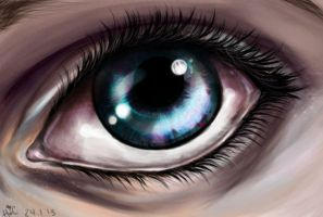 Eye practice by TopHat-And-Tentacles