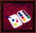 Watercolours Tiny Box by fmr0