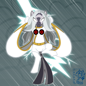 Zecora as Storm by Songficcer