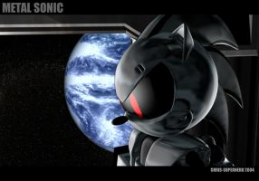 Silver Sonic v08 by cgcoast